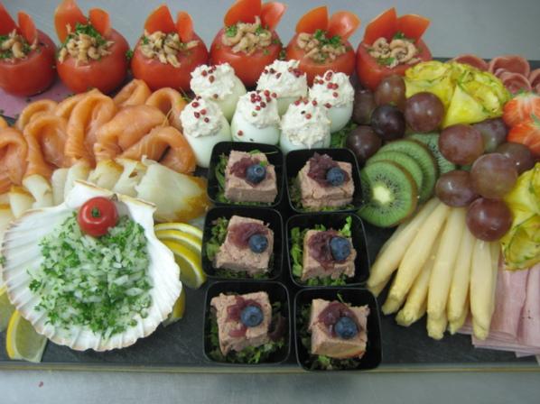 Gemengd standaard buffet