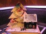 chocolade decoratie kerst