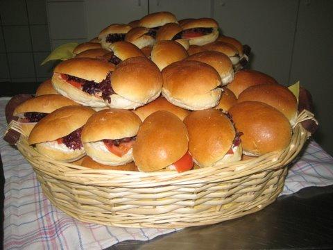 Mini sandwiches (7 stuks)